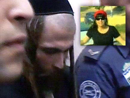 החשוד מבית שמש (צילום: חדשות 2)