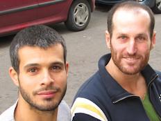 רמי גרשוני וברק גאון (צילום: תומר ושחר צלמים)