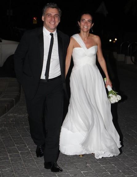 חתונה ליאור אשכנזי (צילום: ראובן שניידר )