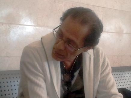 """עמוס אלוני, היום בביהמ""""ש (צילום: עזרי עמרם, חדשות 2)"""