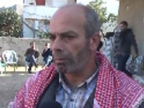 מוחמד חמזה, אביה של הנרצחת (צילום: חדשות 2)
