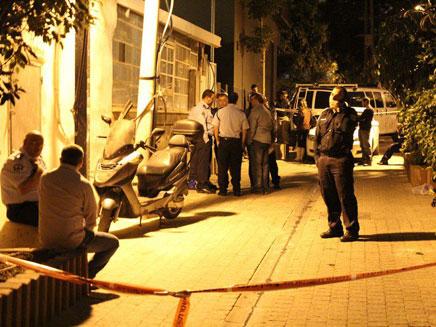 זירת הרצח בכרם התימנים (צילום: משטרת ישראל)