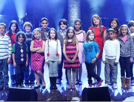 תלמידי בית ספר למוסיקה על הבמה (צילום: עודד קרני)