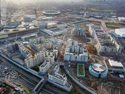 מבט על הפארק האולימפי (צילום: מערכת ONE)