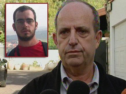 חזי זינגר, אביו של רותם זינגר החשוד בגרימת השריפה (צילום: חדשות 2)