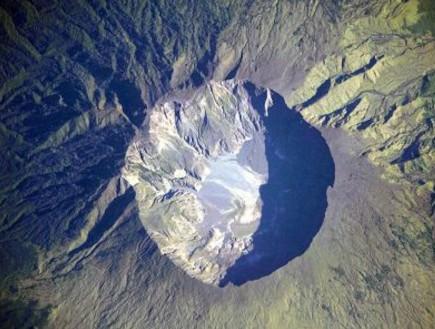 לוע הר געש (צילום: ויקיפדיה)