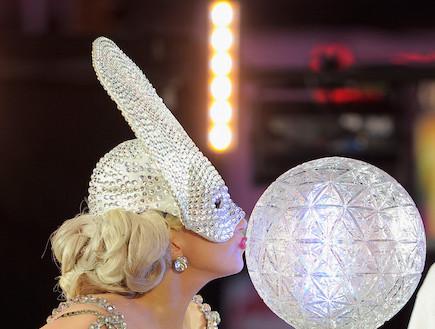 ליידי גאגא טיימס סקוור (צילום: Gettyimages IL, getty images)