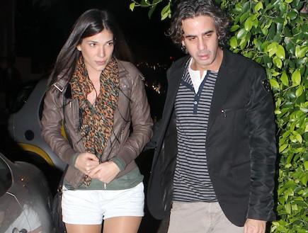 ניר לוי ואורטל סולימן (צילום: ראובן שניידר )