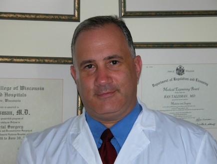 """ד""""ר רן טליסמן (צילום: תומר ושחר צלמים)"""