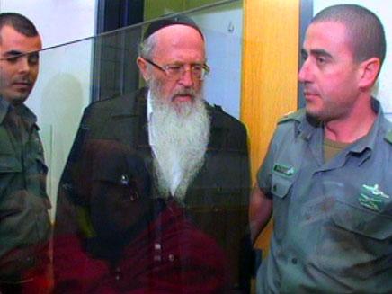 הרב יעקב דויטש. נאשם בעבירות מין (צילום: חדשות 2)
