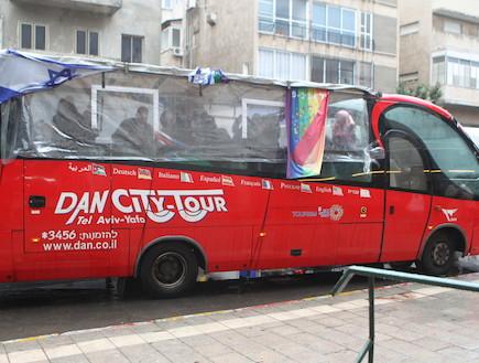 אוטובוס הגאווה (צילום: ראובן שניידר )