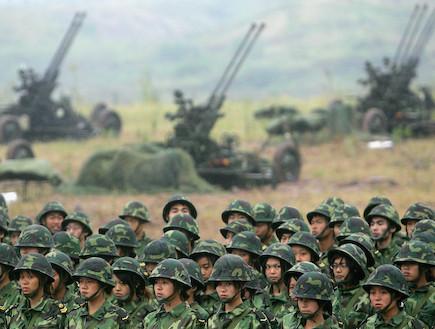 חייל מילואים בצבא סין (צילום: China Photos, GettyImages IL)
