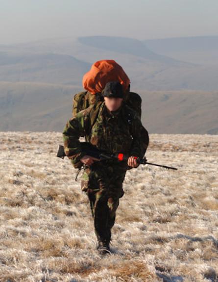 חיילי מילואים בריטים (צילום: צבא בריטניה)