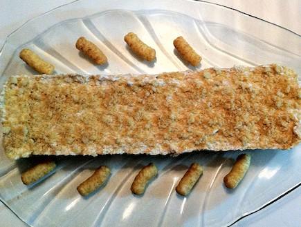 עוגת במבה קפואה (צילום: מור בקר)