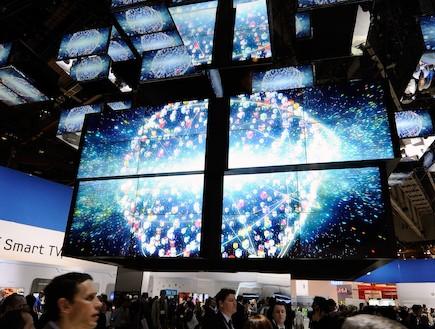 טלוויזיות סמסונג (צילום: Ethan Miller, GettyImages IL)