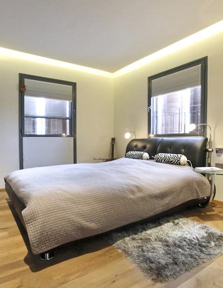חדר שינה אחרי שיפוץ - חלי ישראלי3 (צילום: אורן שלו)