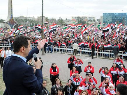 הבטיח יציבות ותמיכה ברפורמות? בשאר אסד (צילום: רויטרס)