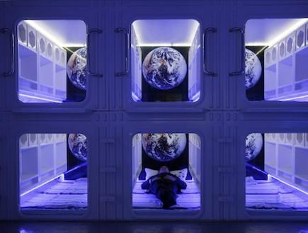 מלון העתיד (צילום: AP Photo/Kin Cheung)