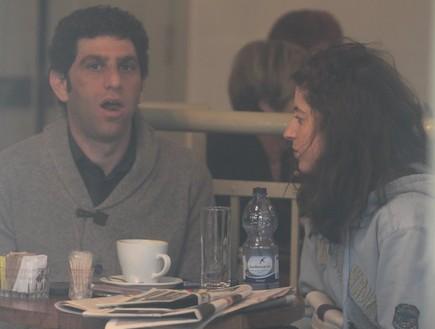 אפרת גוש ויוסי מרשק אחרי הפרידה ביחד (צילום: ראובן שניידר )