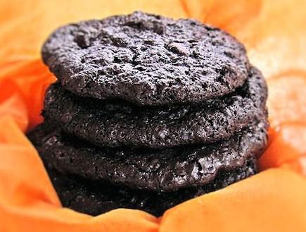 עוגיות דאבל שוקולד 1 (צילום: דליה מאיר, קסמים מתוקים)