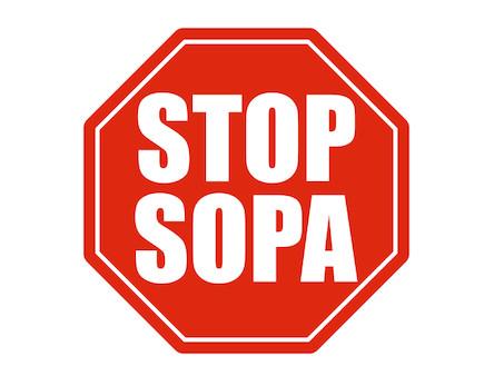 STOP SOPA (צילום: אילוסטרציה - ארכיון)