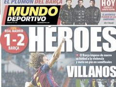 """שער ה'מונדו דפורטיבו'. """"גיבורים"""" (צילום: מערכת ONE)"""