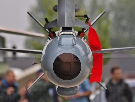 """טיל דלילה (צילום: תע""""ש)"""
