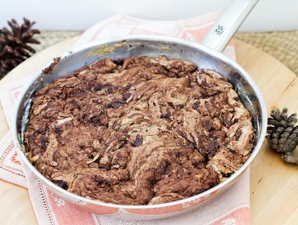 """עוגייה במחבת (צילום: עידית נרקיס כ""""ץ, טעים!)"""