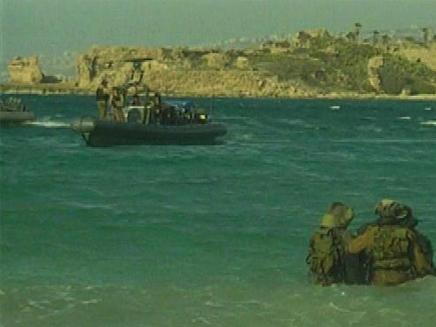 בסיס השייטת בעתלית (צילום: חדשות 2)