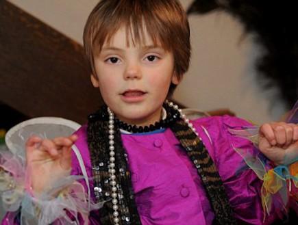 סשה לקסטון - ילד ללא מגדר 3 (צילום: צילום מסך אתר dailymail)