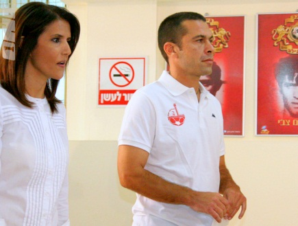 גיא לוי ואלונה ברקת (יניב גונן) (צילום: מערכת ONE)