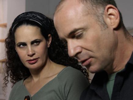 אריאל הורוביץ, שרה בק (צילום: אייל בן יעיש)