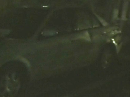 רכב המזדה הפוגע, אתמול (צילום: חדשות 2)