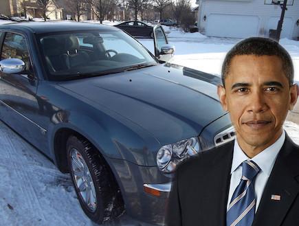 המכונית הישנה של ברק אובמה למכירה -קרייזלר 300C