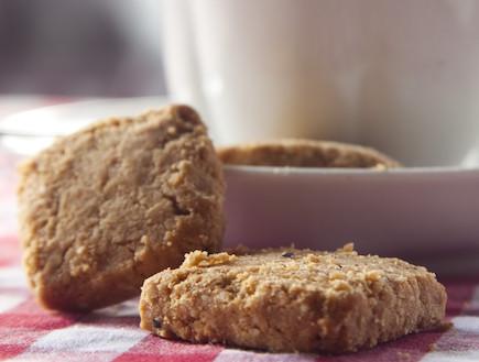 עוגיות טחינה (צילום: עדיאל דוד, קפה יפו)