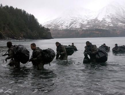 חיילים באלסקה (צילום: Handout, GettyImages IL)