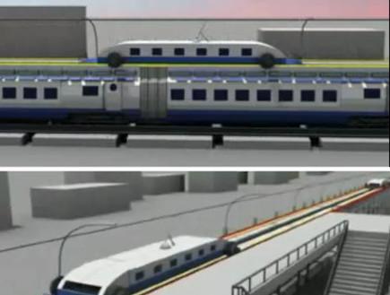 רכבת מהירה ללא עצירות (צילום: gajitz.com)