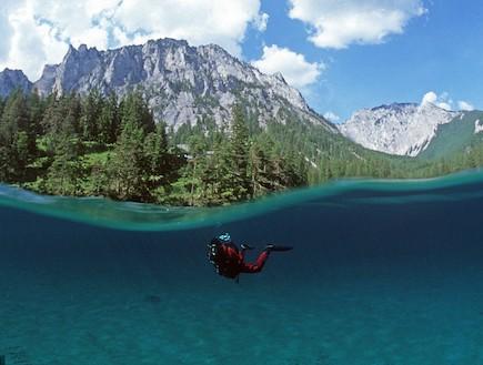 האגם הירוק באוסטריה
