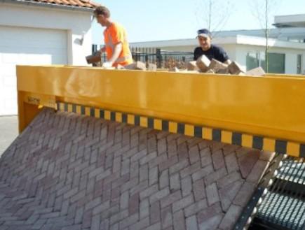 מדהים: מכונה לריצוף רחובות הולנדיים 3 (צילום: אתר החברה)