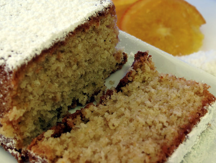 עוגת תפוזים קוקוס עשירה ללא גלוטן (צילום: תמי בן דוד, קולינריא)