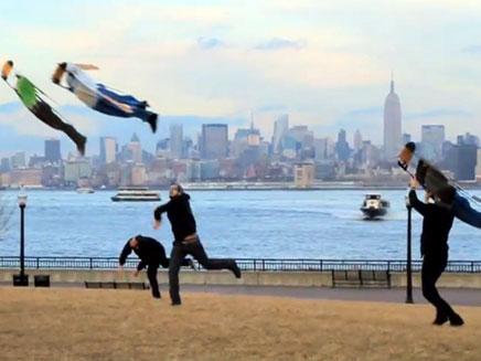 מה קרה בשמי ניו יורק? (צילום: חדשות 2)