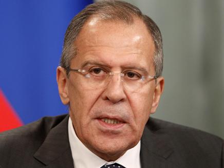 שר החוץ הרוסי לברוב (צילום: רויטרס)