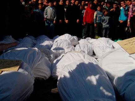 כ-200 הרוגים במאפייה באזור חאמה. ארכיון (צילום: רויטרס)