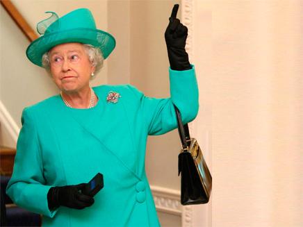 המלכה אליזבת (צילום: חדשות 2)