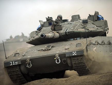 """מרכבה סימן 4 (צילום: מיכאל שבדרון, דובר צה""""ל)"""