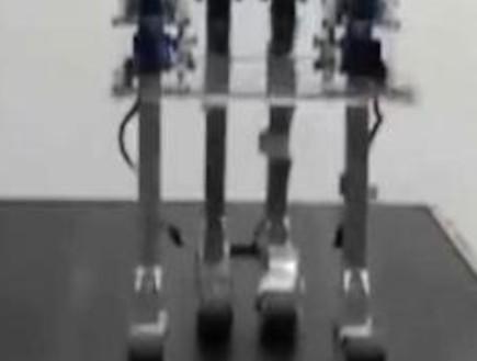 הרובוט שהולך בלי מקור כוח (צילום: Youtube)