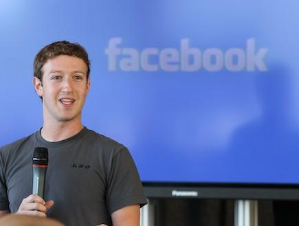 """מייסד ומנכ""""ל פייסבוק מארק צוקרברג (צילום: Justin Sullivan, GettyImages IL)"""