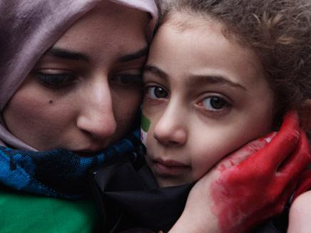 סוריה: מא אלף הרוגים, מיליון וחצי פליטים (צילום: רויטרס)