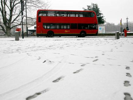 לונדון מתחת לאפס (öéìåí: רויטרס)