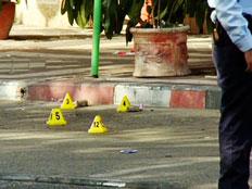 חשד לניסיון חיסול בלוד (צילום: חדשות 2)